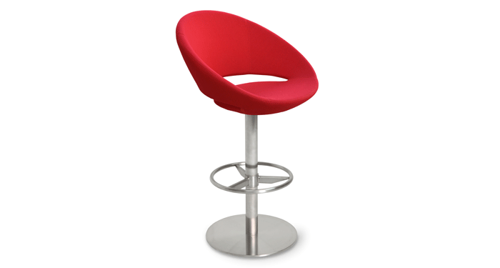 Crescent Swivel Stools