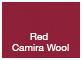 Red Camira Wool