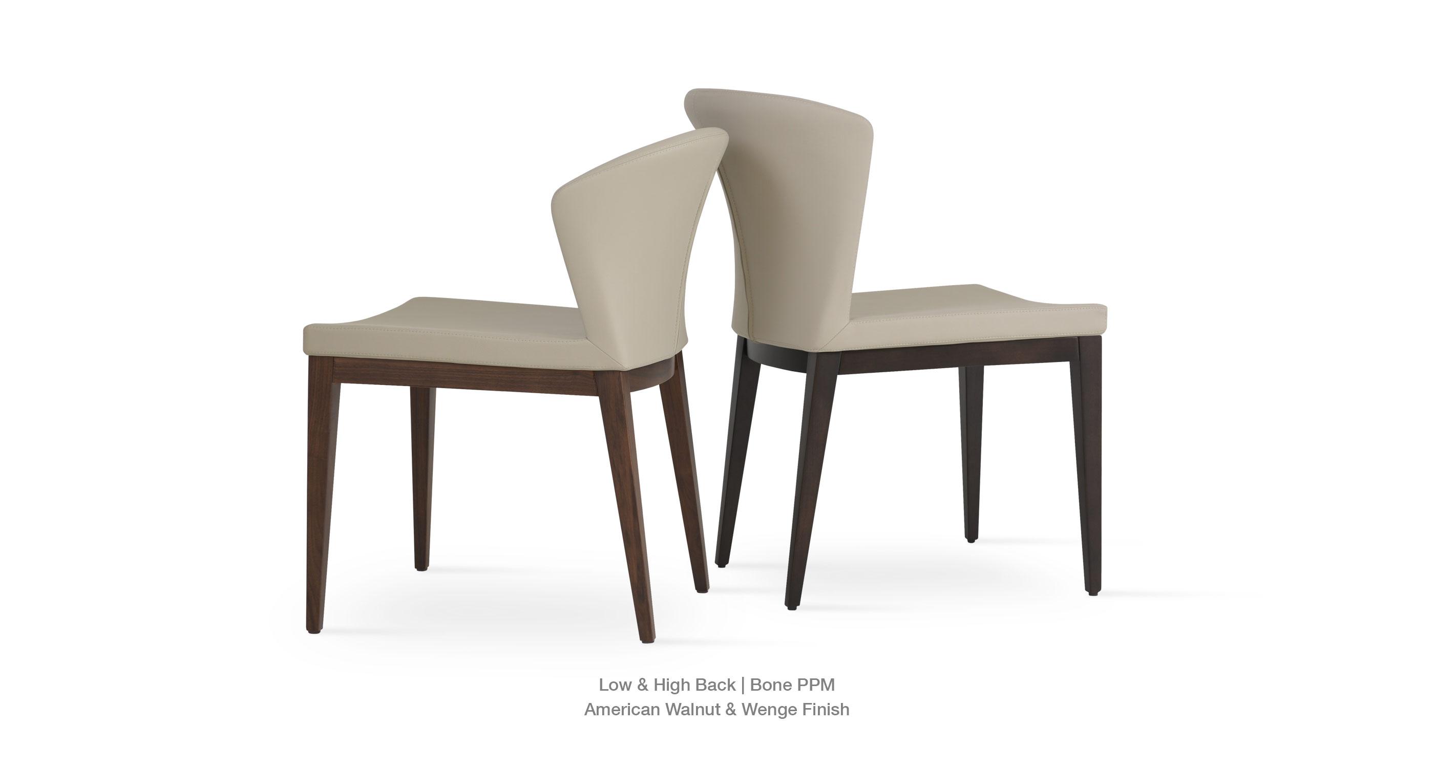 Capri wood contemporary wood dining chairs sohoconcept