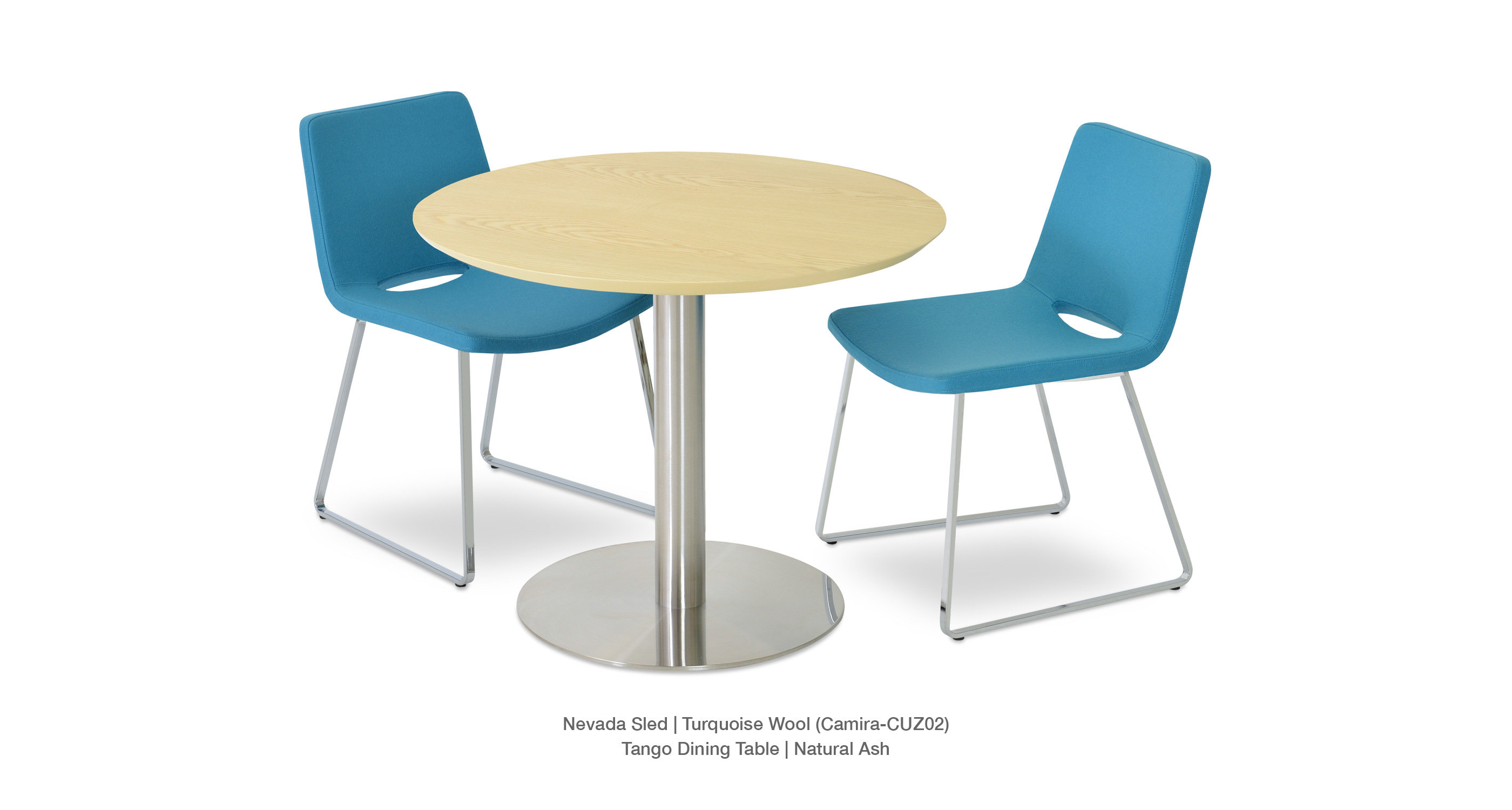 nevada sled modern dining chairs sohoconcept