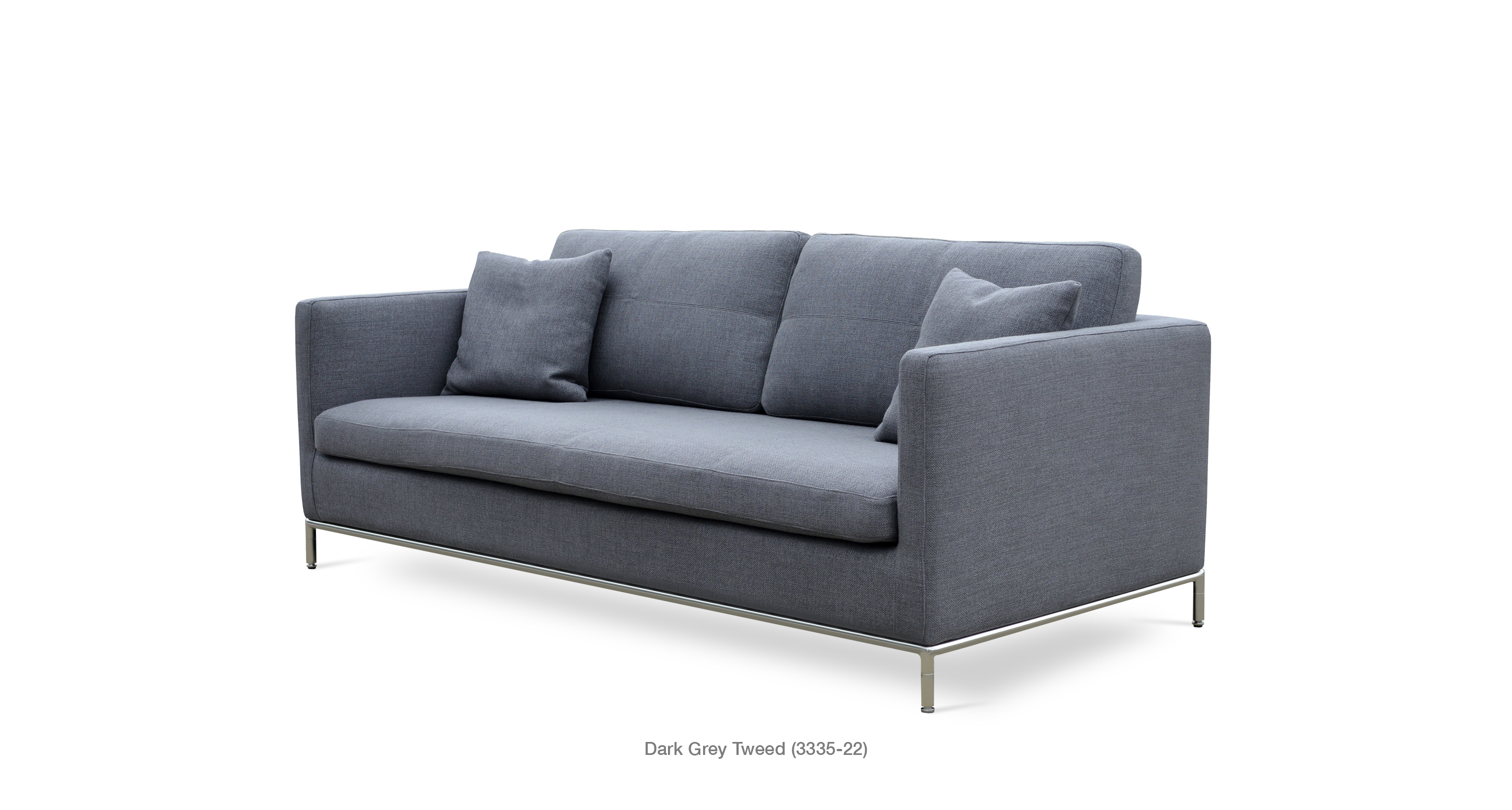 Istanbul sofa modern contemporary sofas sohoconcept for Grey tweed couch