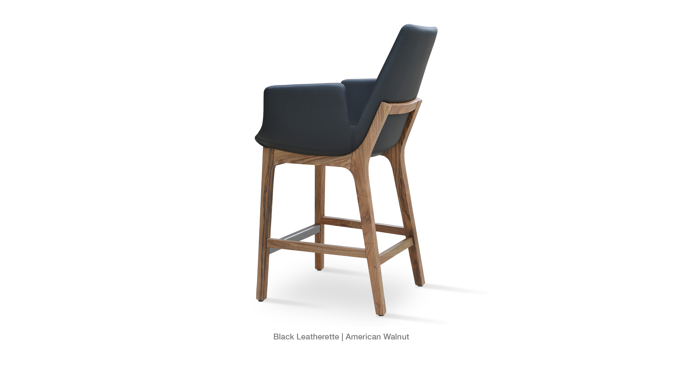 Superb img of Eiffel Wood Arm Contemporary Stool Chairs sohoConcept with #674934 color and 2800x1500 pixels