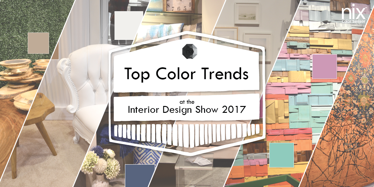 Following the Design and Color Trends at IDS Toronto 2017*