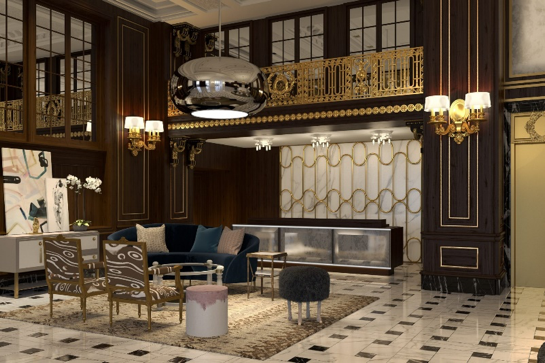The Most Modern Hotel Lobby Furniture