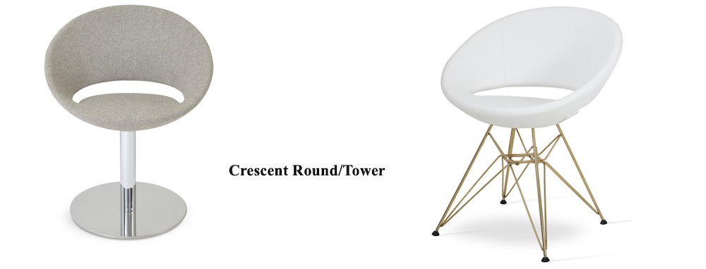 Crescent tower round