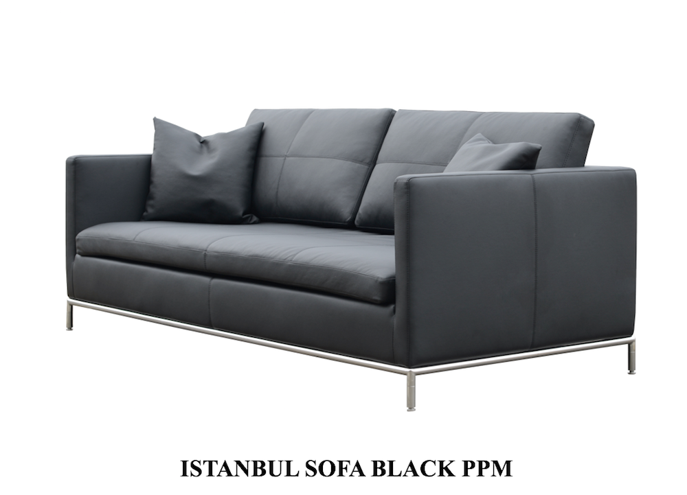 istanbul sectional black ppm