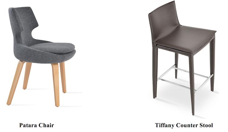 Gentil Modern Restaurant Chairs By SohoConcept