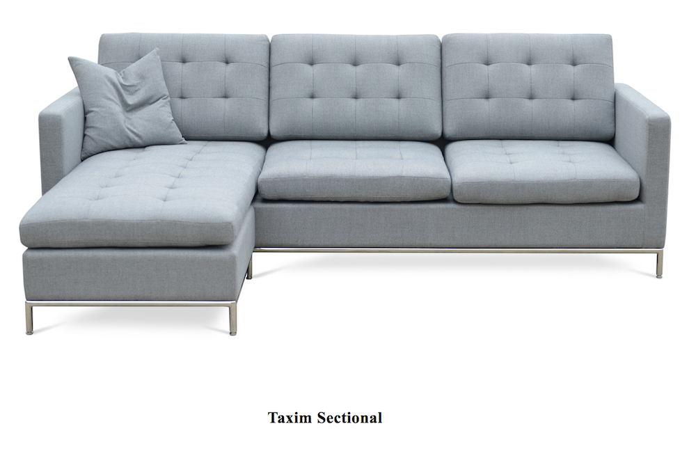 taxim sectional