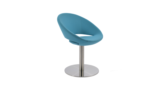 Crescent Round Chair