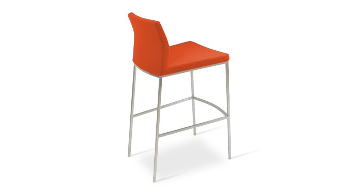 Pasha Chrome Stools