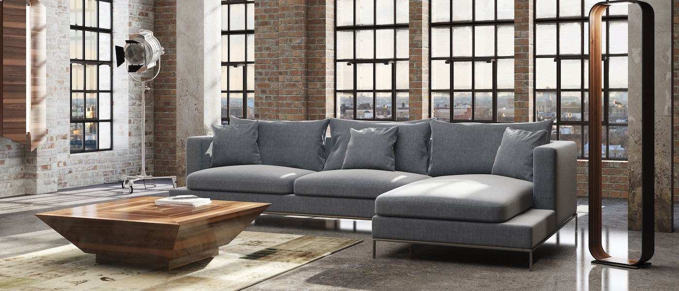 modern furniture  retail  wholesale  sohoconcept - simena sectional