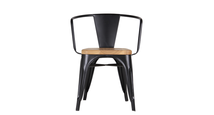 Tempo Wood Arm Chair