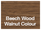 Beech Wood Walnut Color