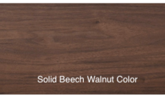 Solid beec Walnut