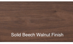 Solid Beech Walnut