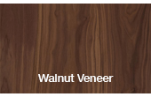 Walnut Veneer Steel