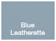 Blue Leatherette