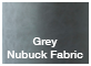 nubuck grey fabric