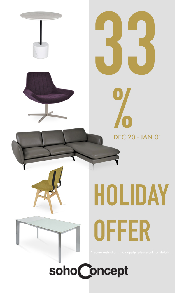 33% HOLIDAY OFFER