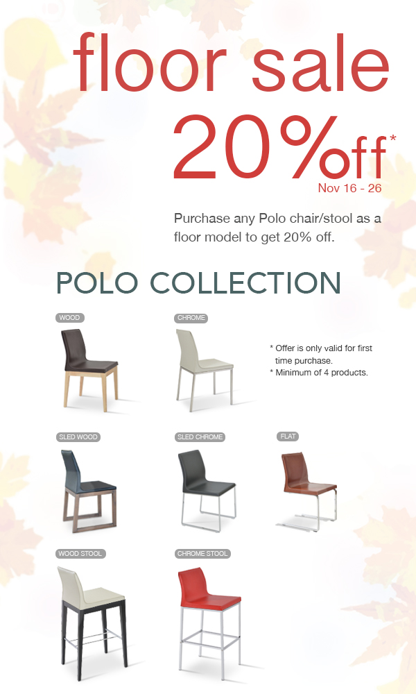 Polo floor sale - Nov 16- 26