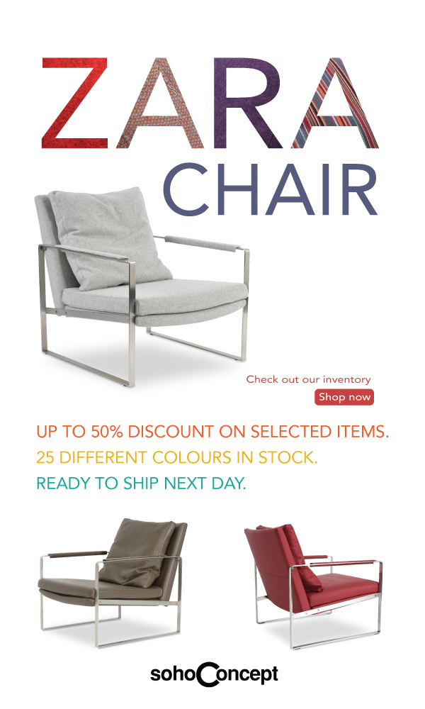 Zara Chair-Up to 50% Off