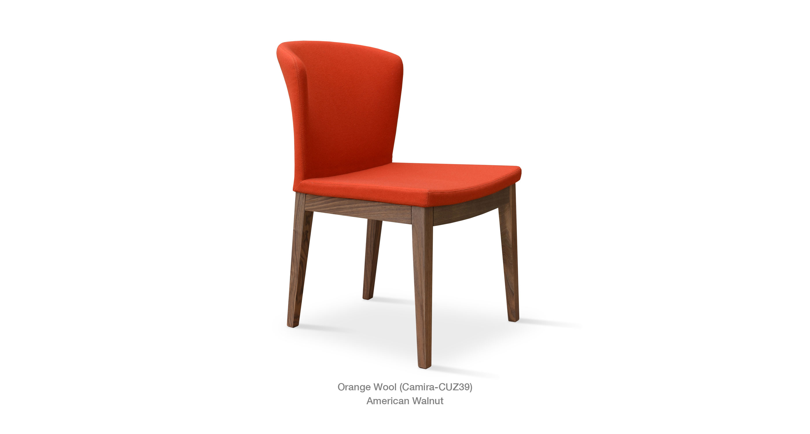 Capri Wood   Orange Camira
