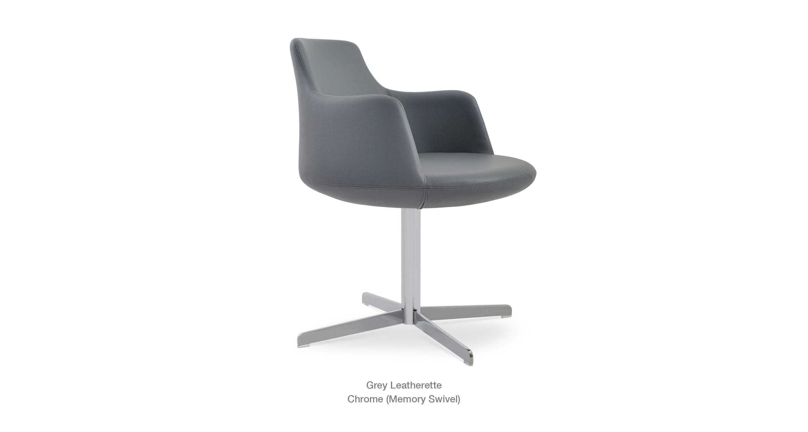 Dervish 4 Star Grey Leatherette