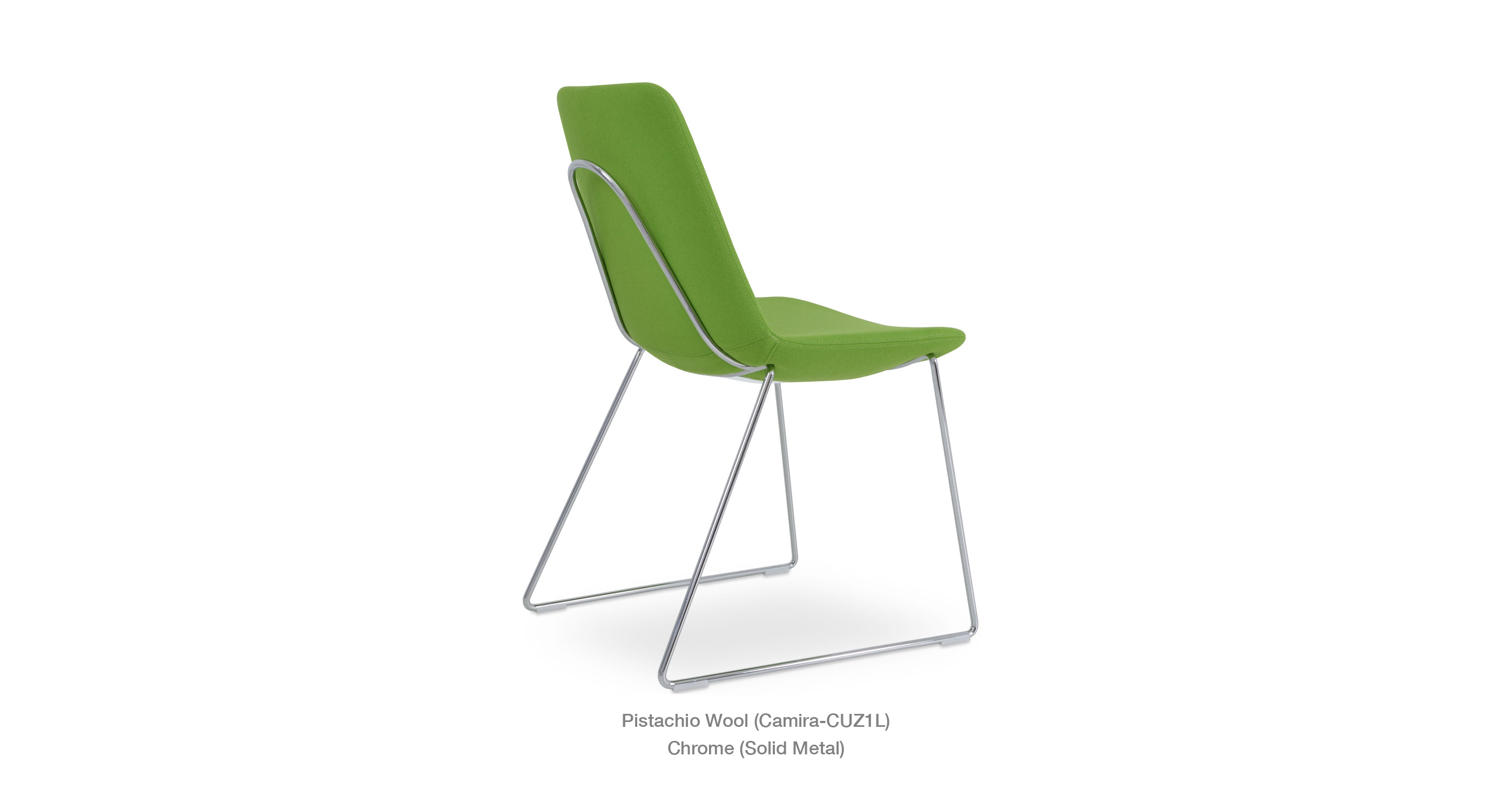 Eiffel Handle Back Pistachio Camira
