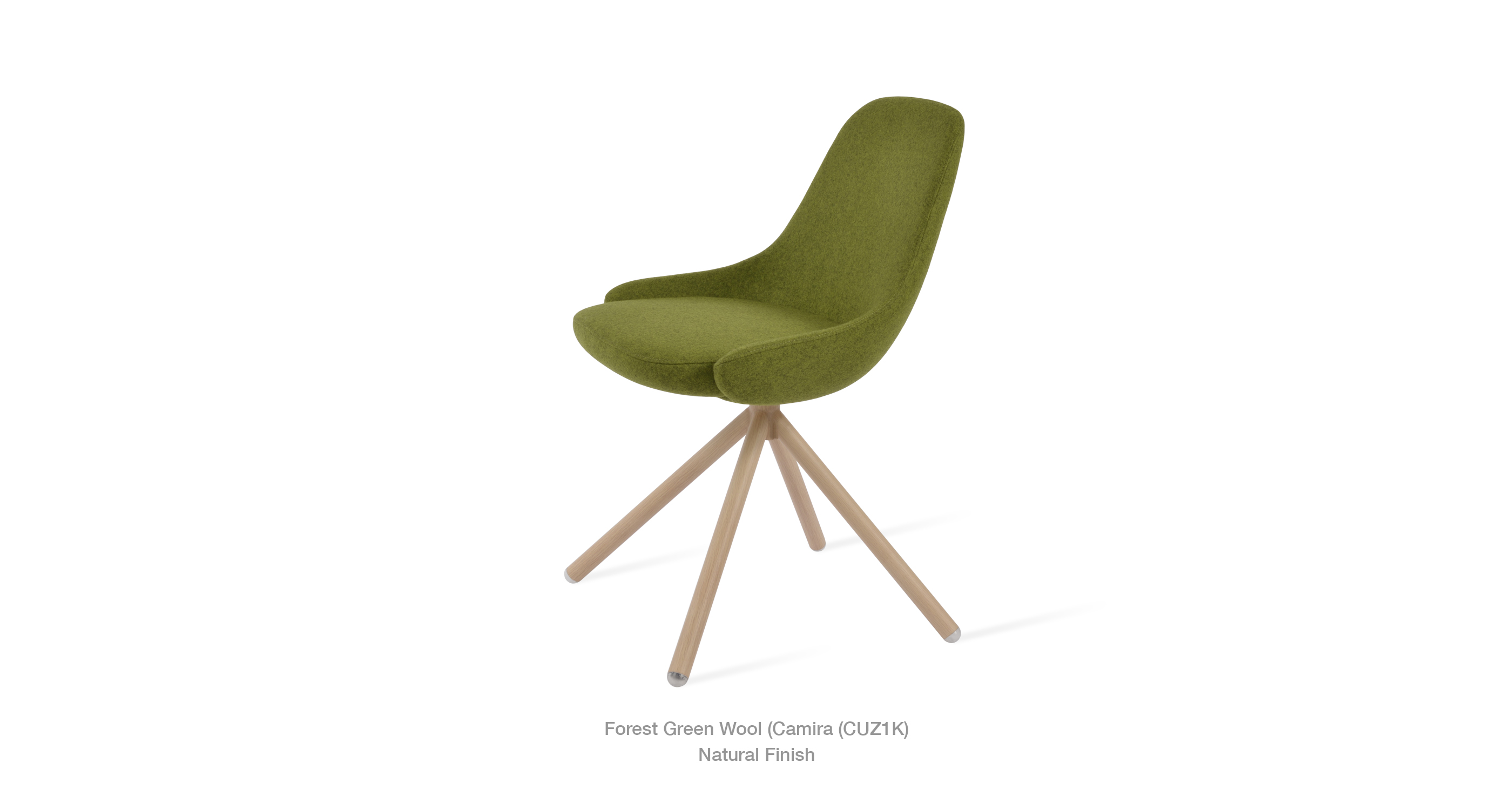 Gazel Stick Forest Green Natural
