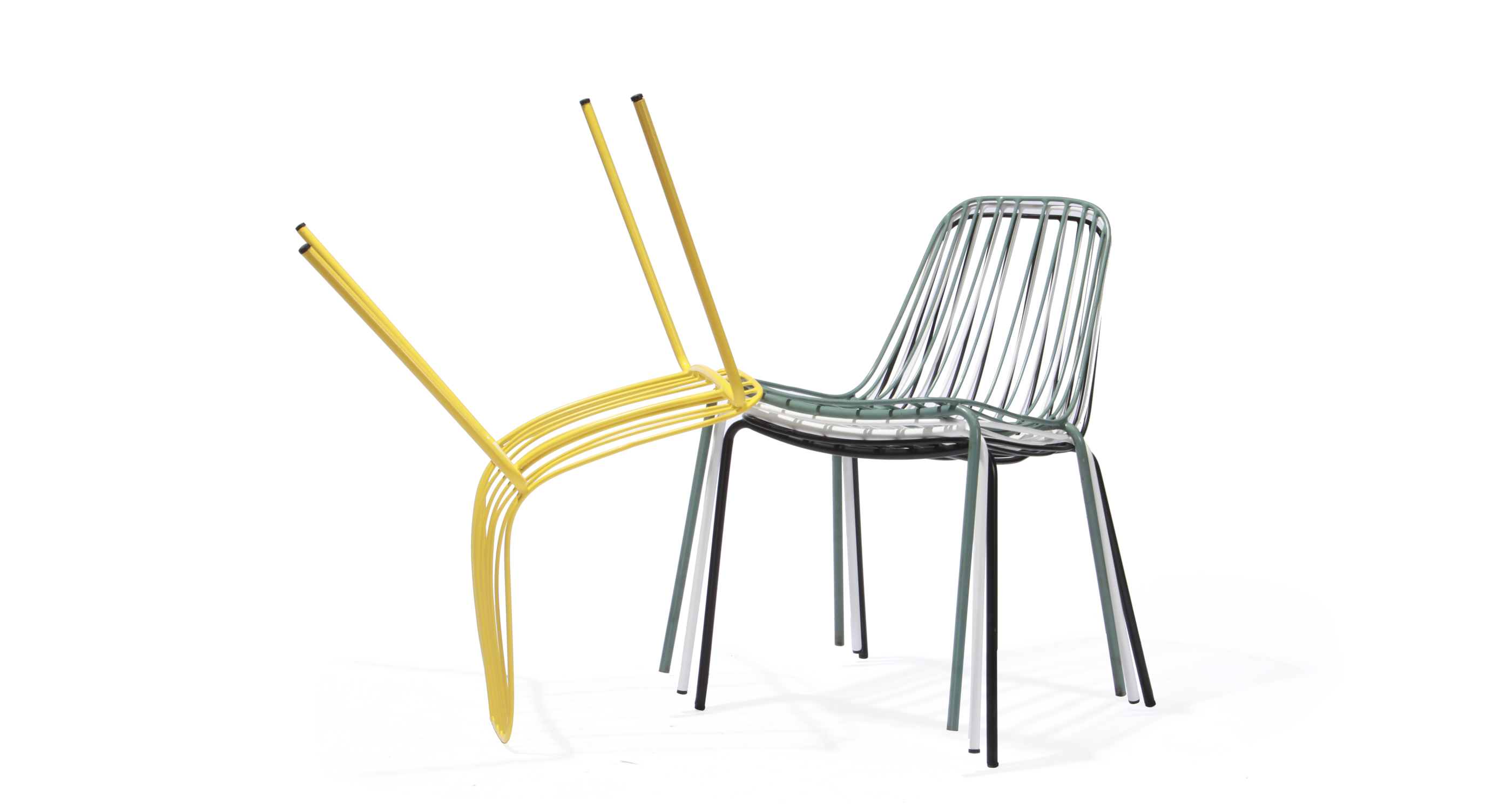 Odessa Chair Yellow  Stackable
