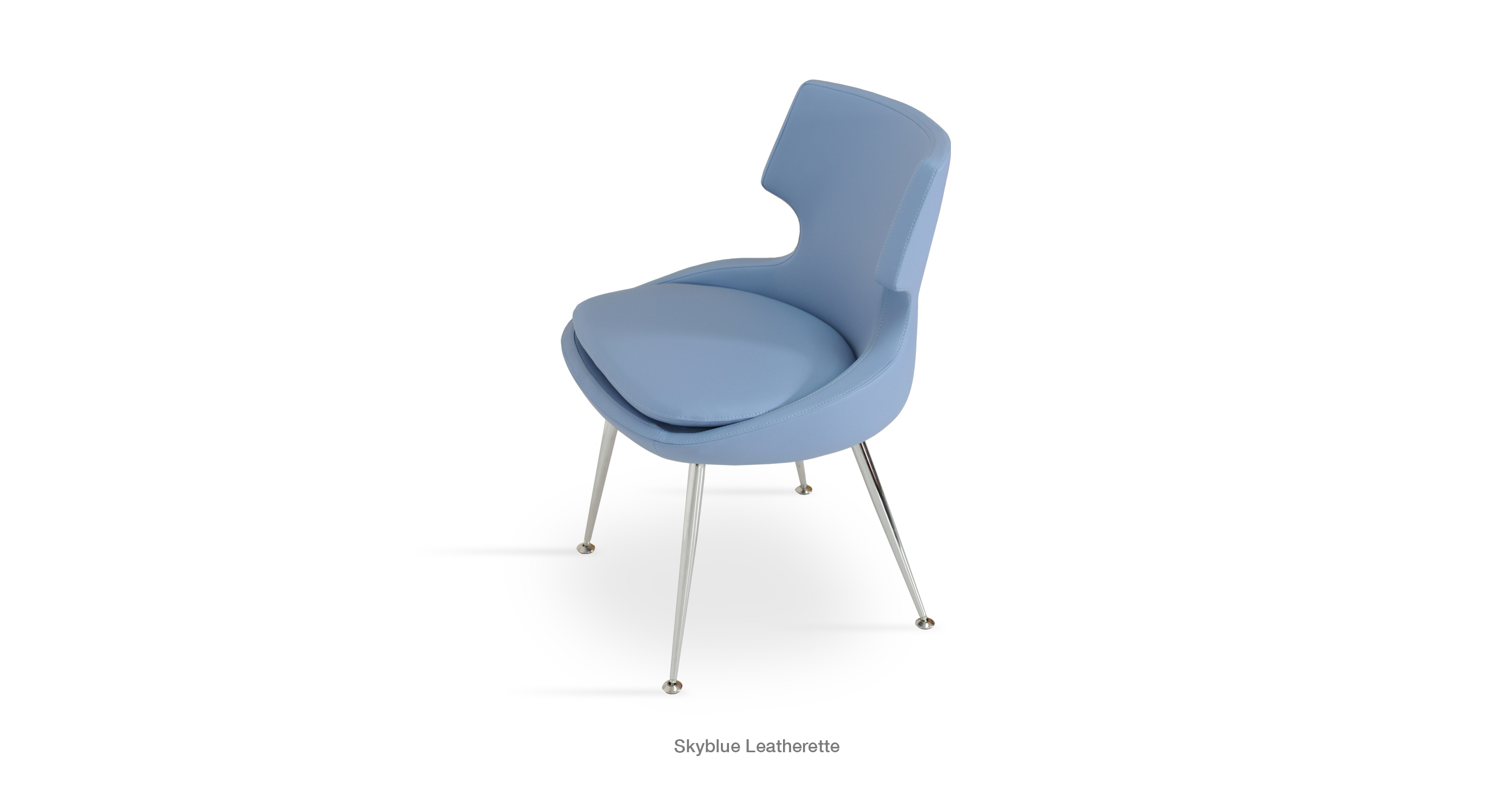 Patara Skyblue Leatherette