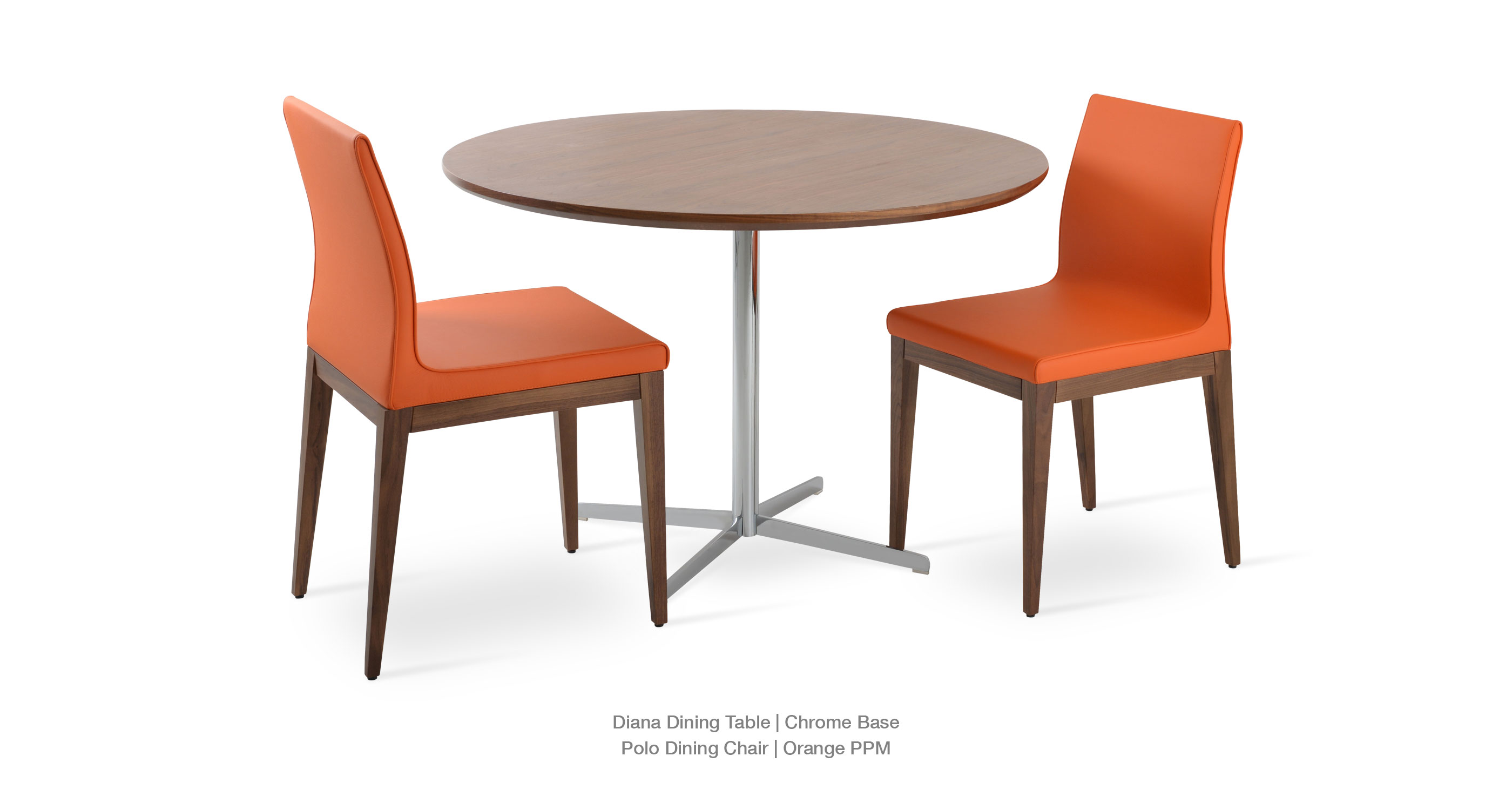Polo Wood Orange - Diana Dining