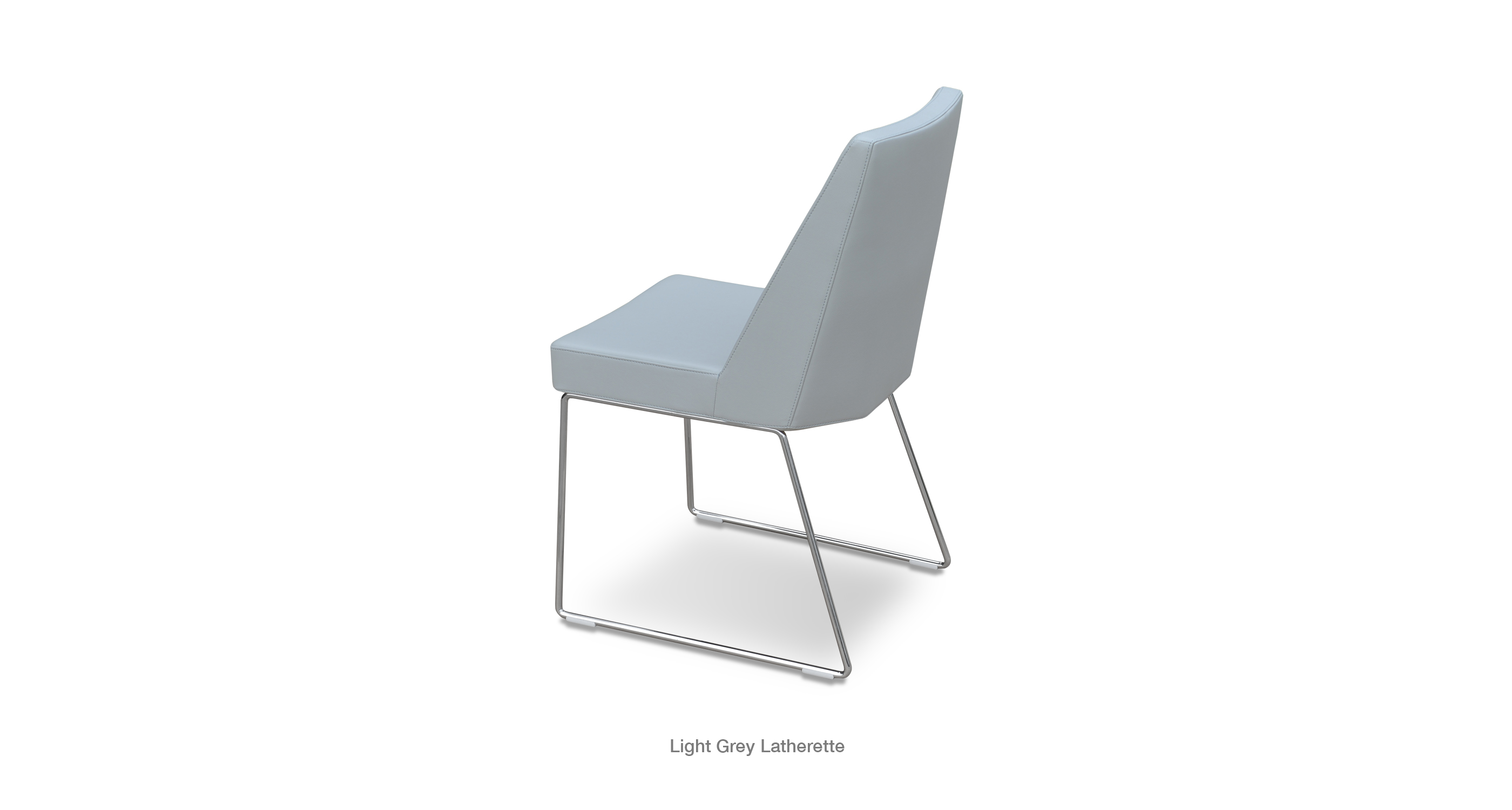 Prisma Wire Light Grey Leatherette