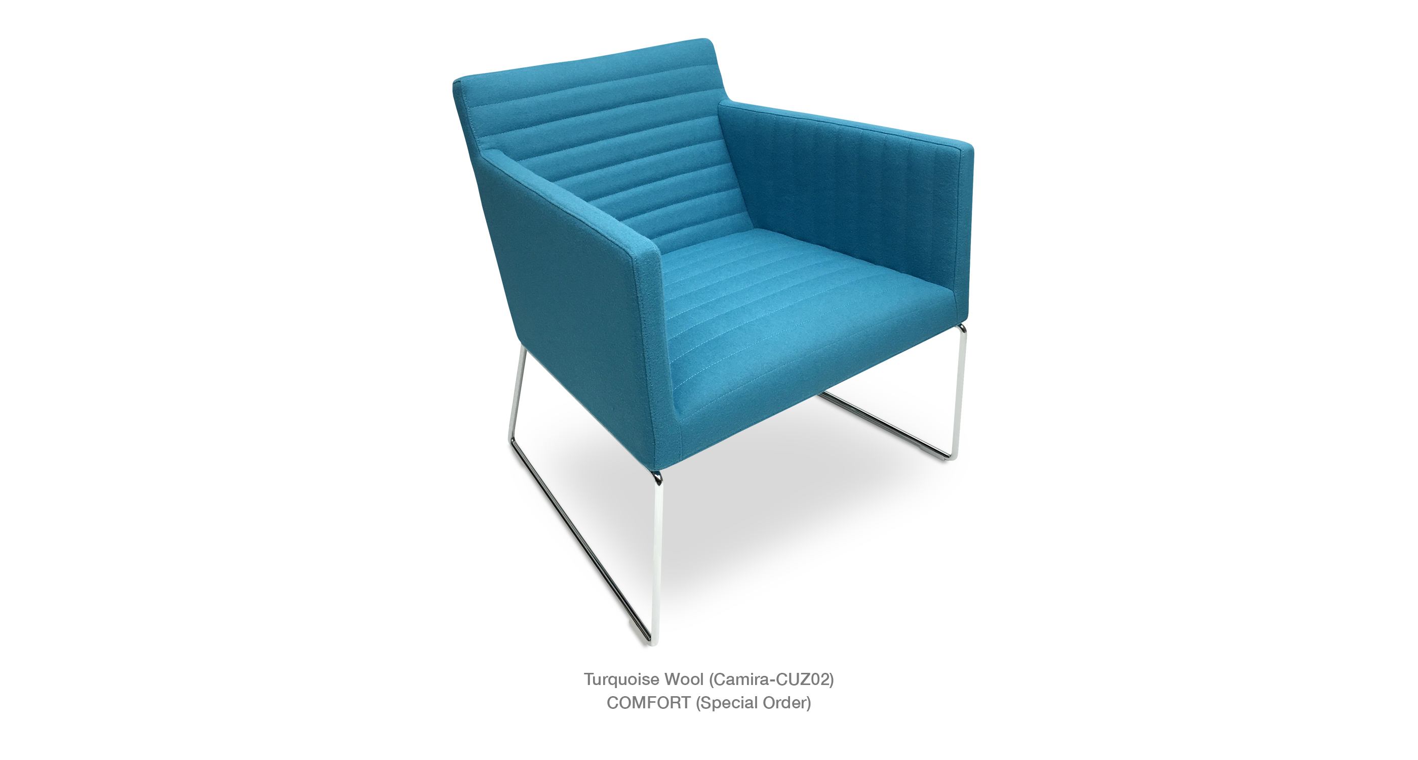 Harput Wire Lounge Turquoise Wool