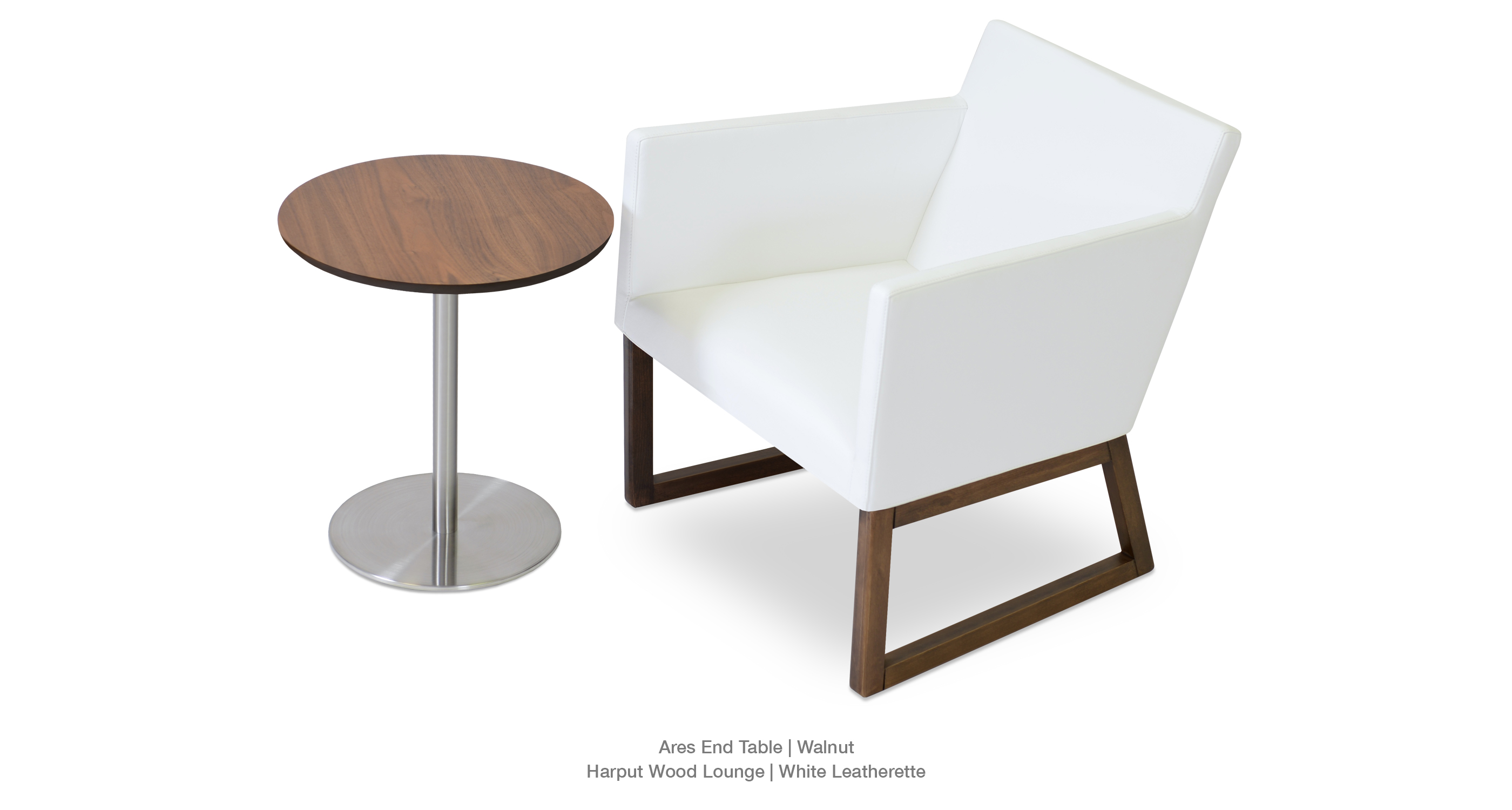 Harput Lounge Wood Ares End Table