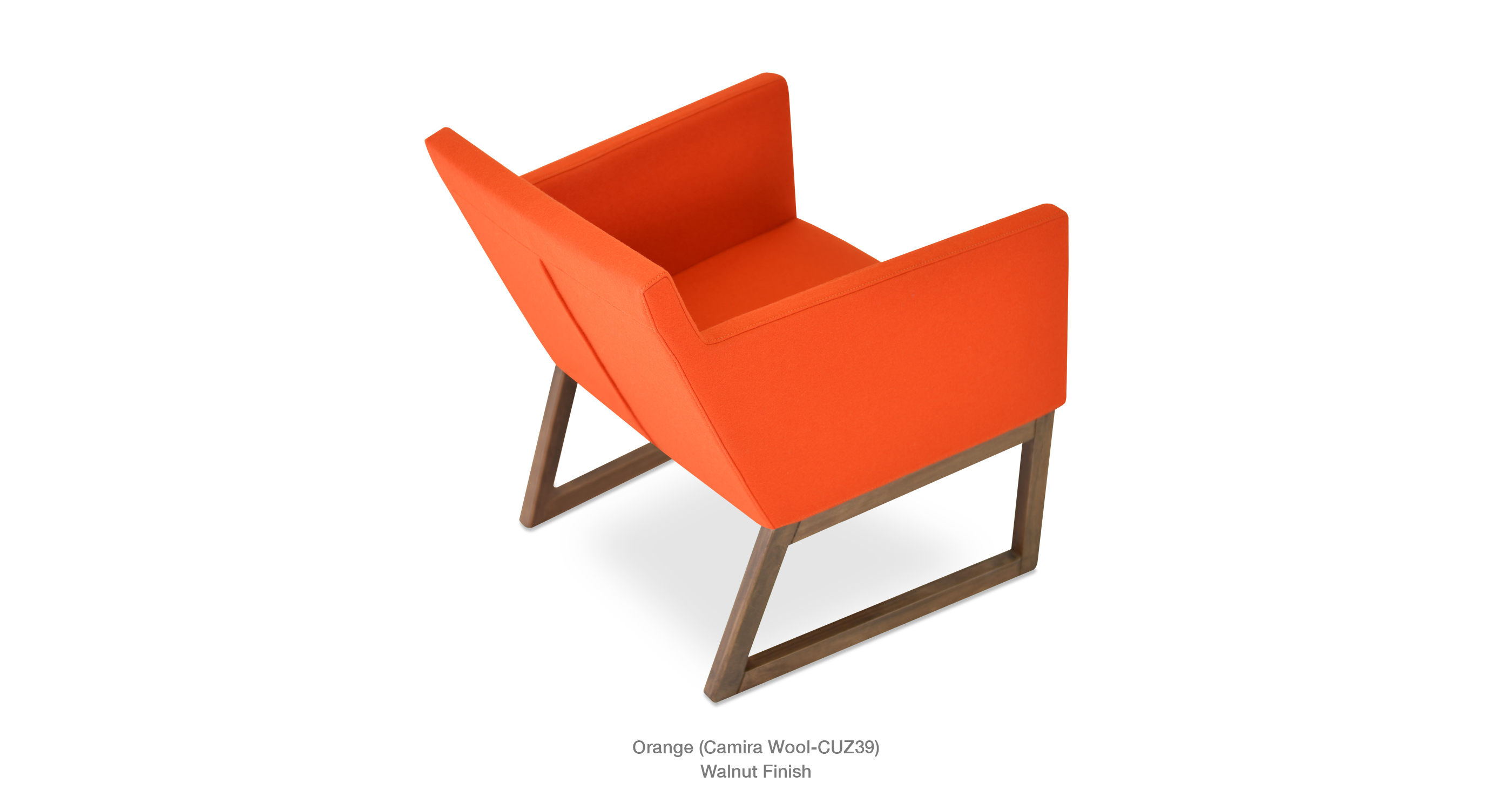 Harput Lounge Wood Orange