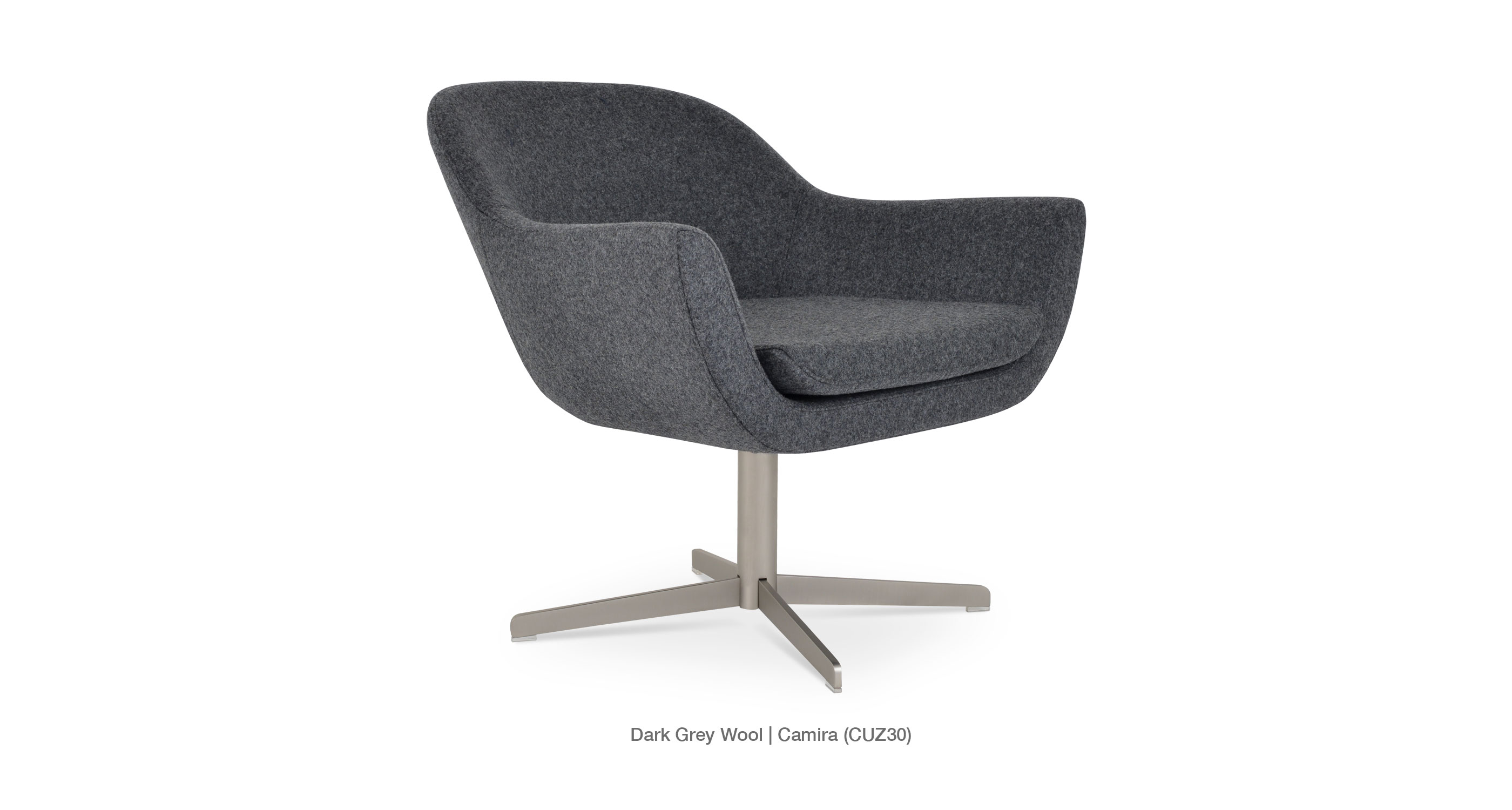Madison 4 Star Darkgrey Wool