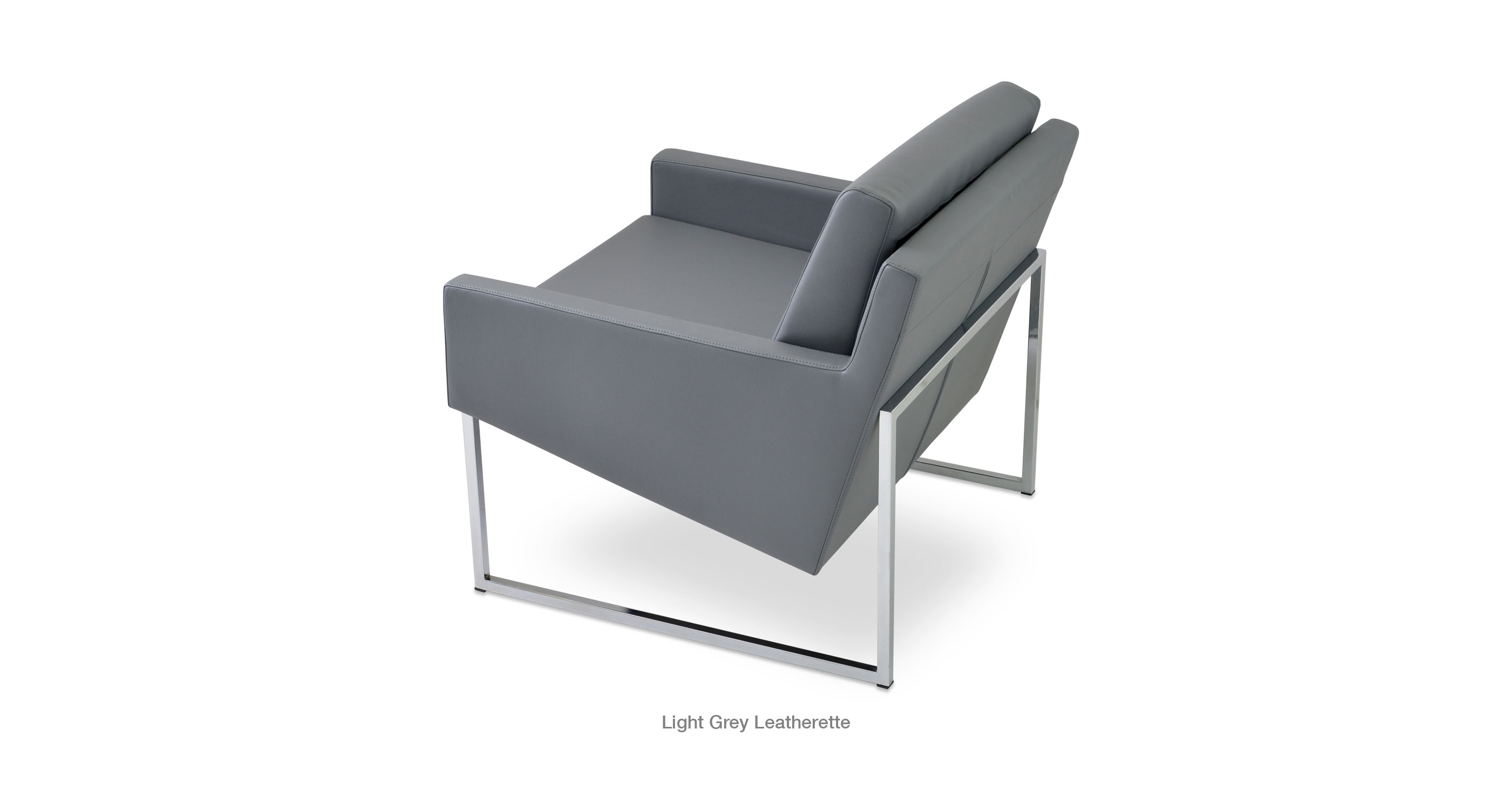 Nova Chrome Light Leatherette