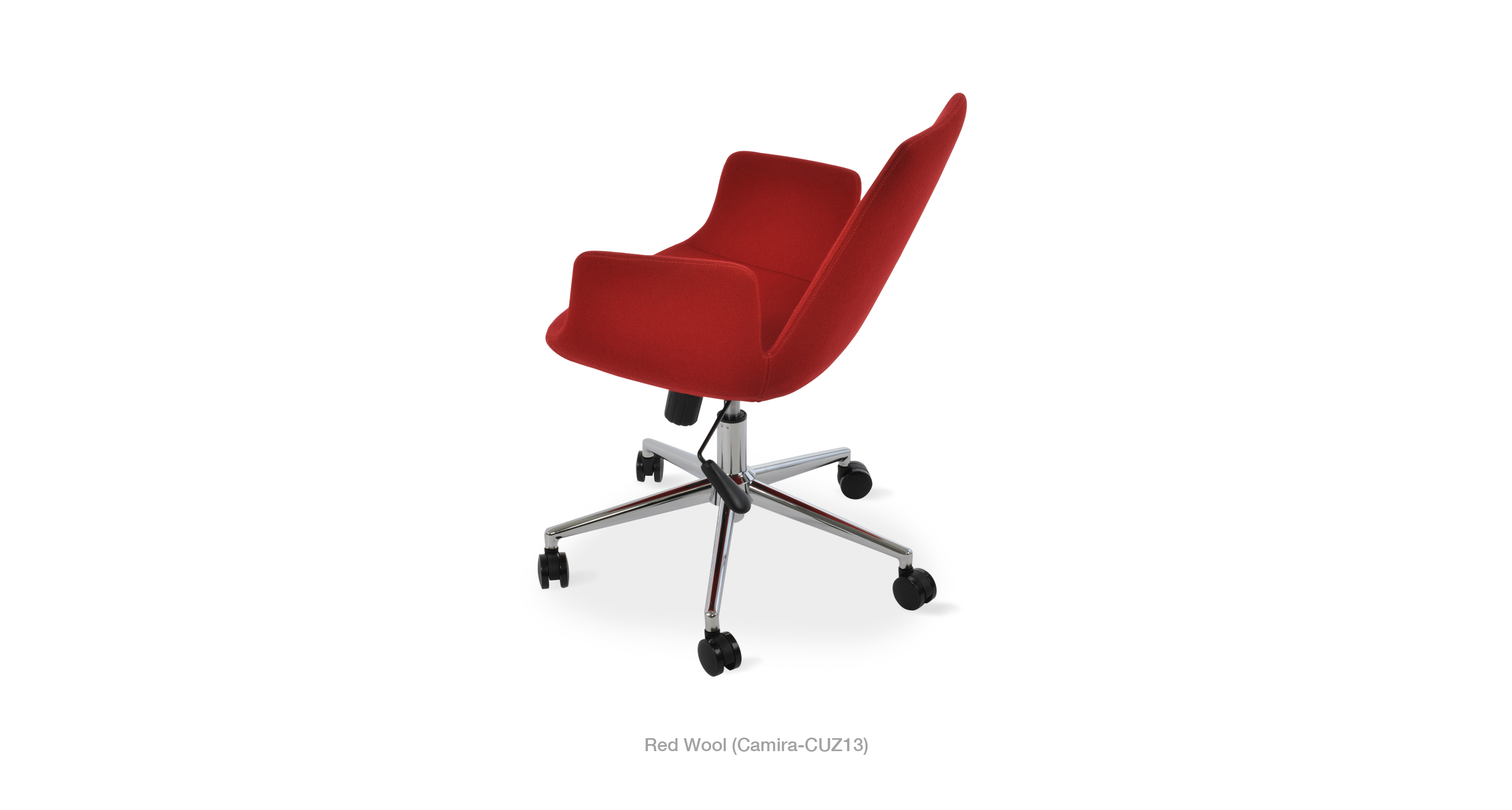 2020 03 05 Eiffel Arm Office Red Wool