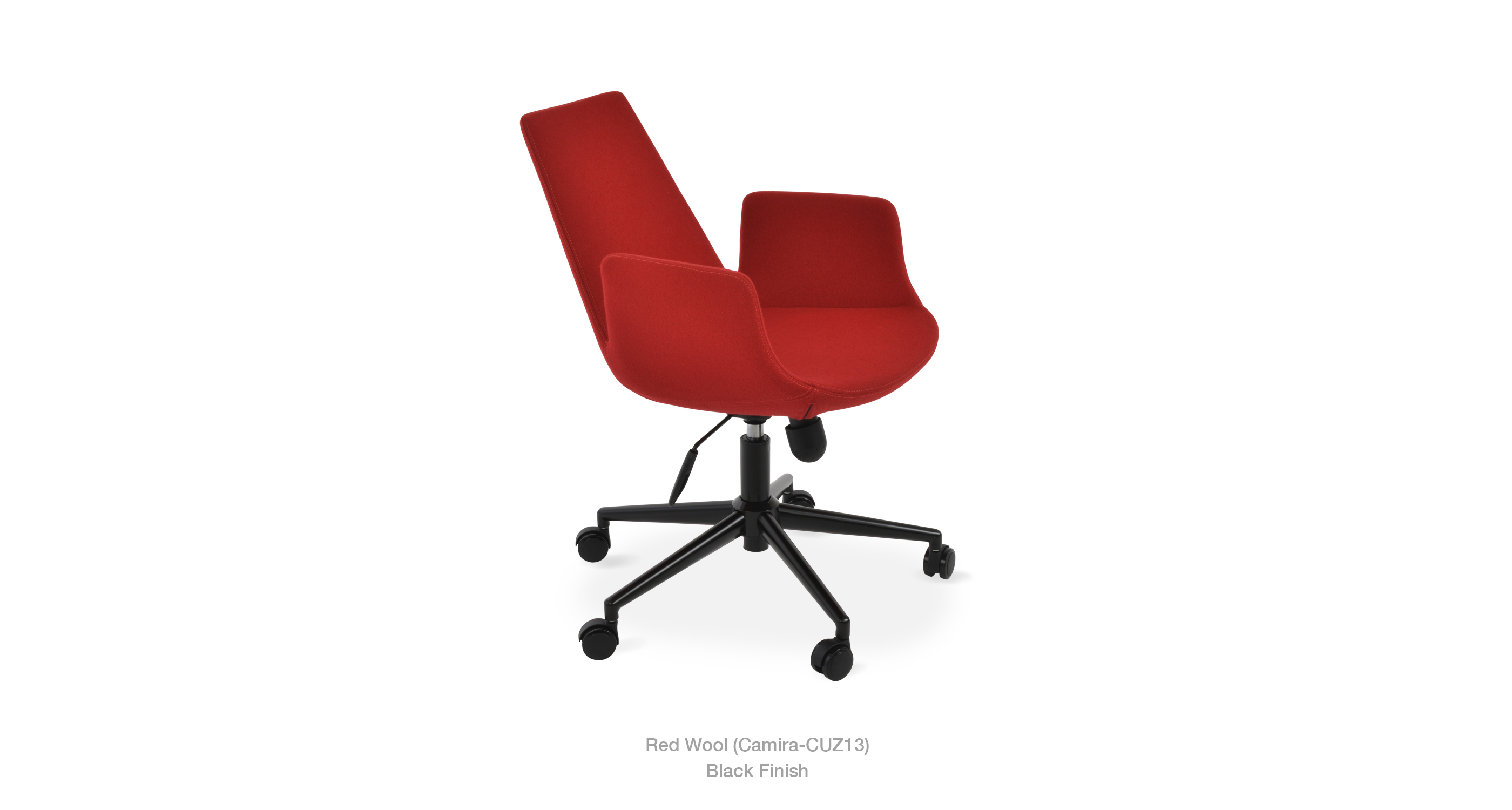 2020 03 05 Eiffel Arm Office Red Wool Black