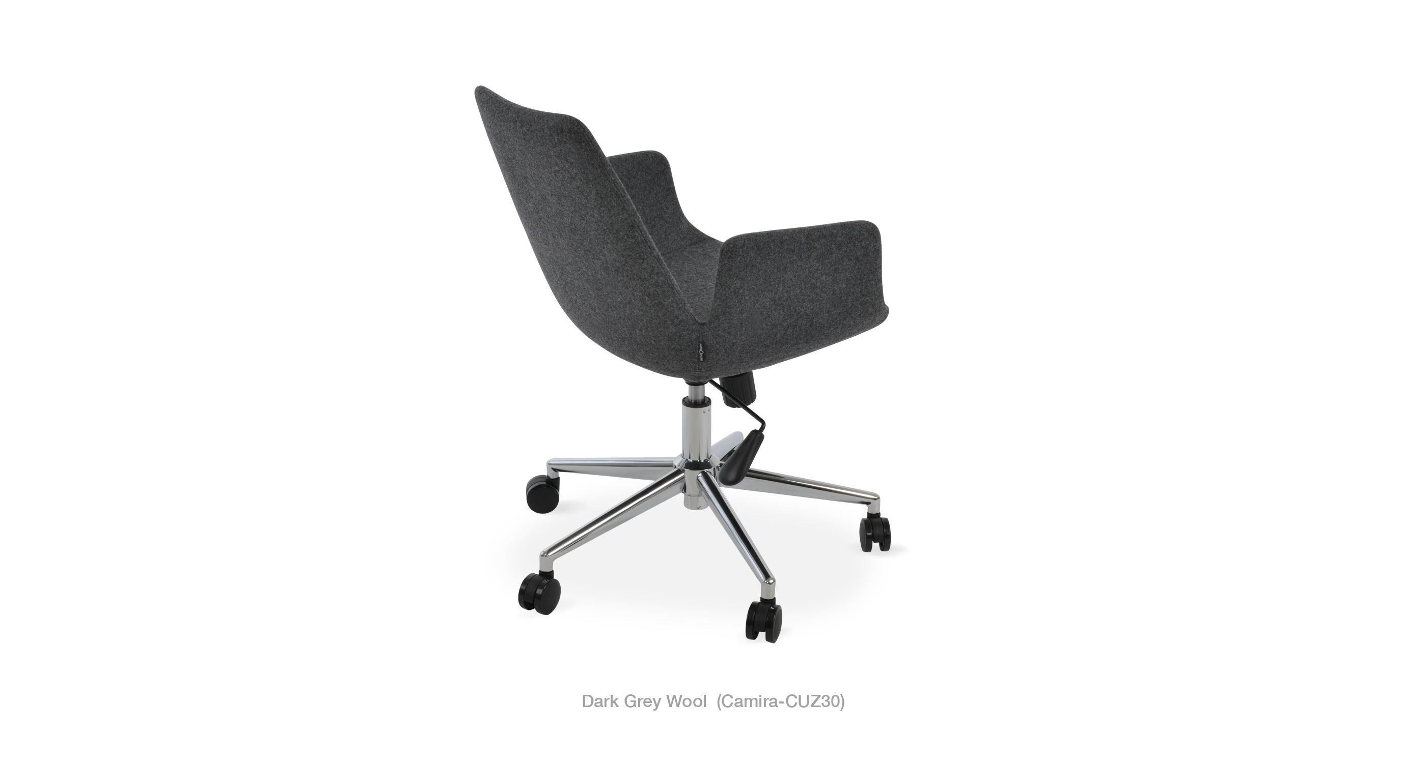 2020 03 15 Eiffel Arm Office Dark Grey Wool