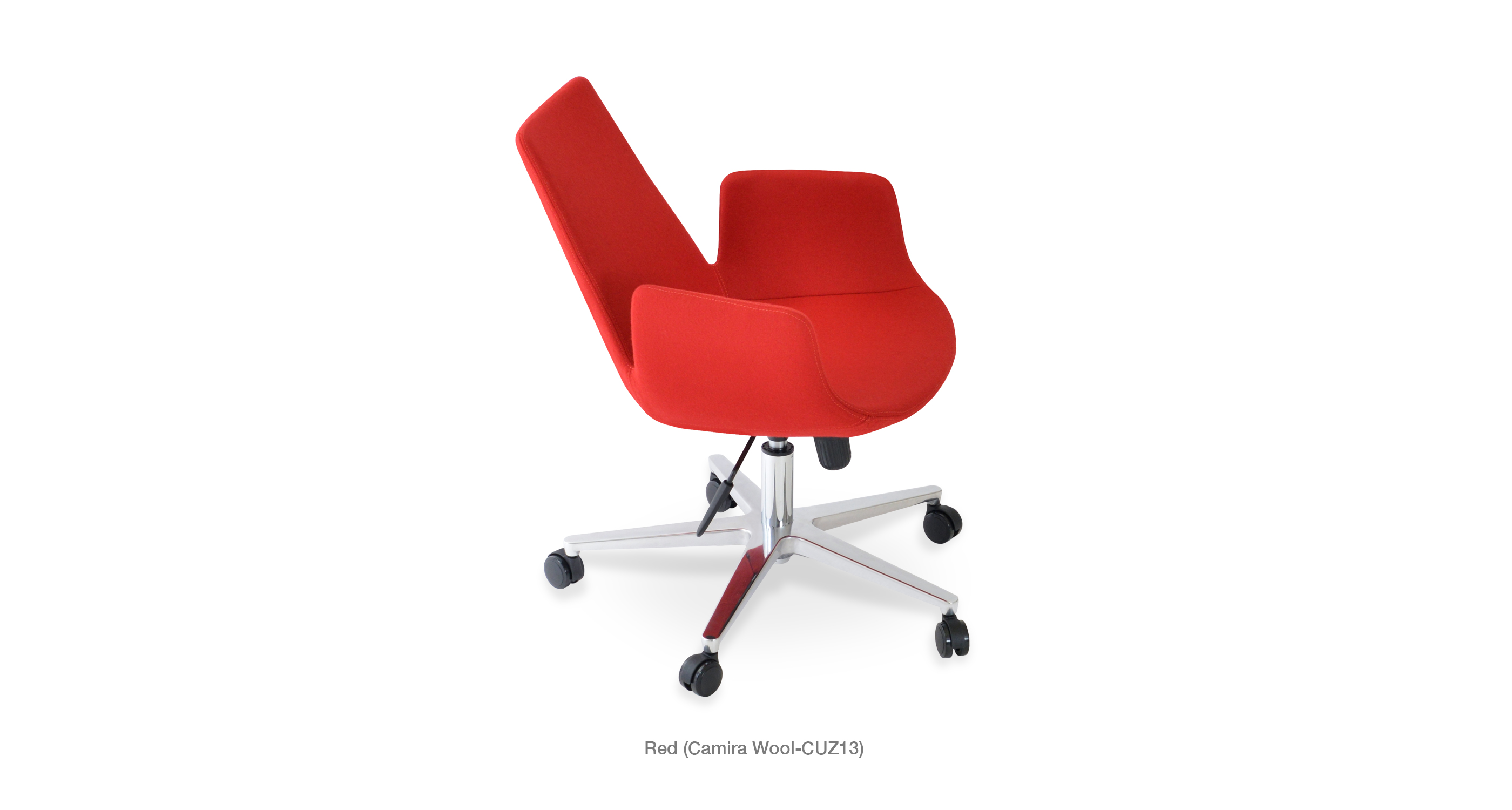 Eiffel Arm Office Red