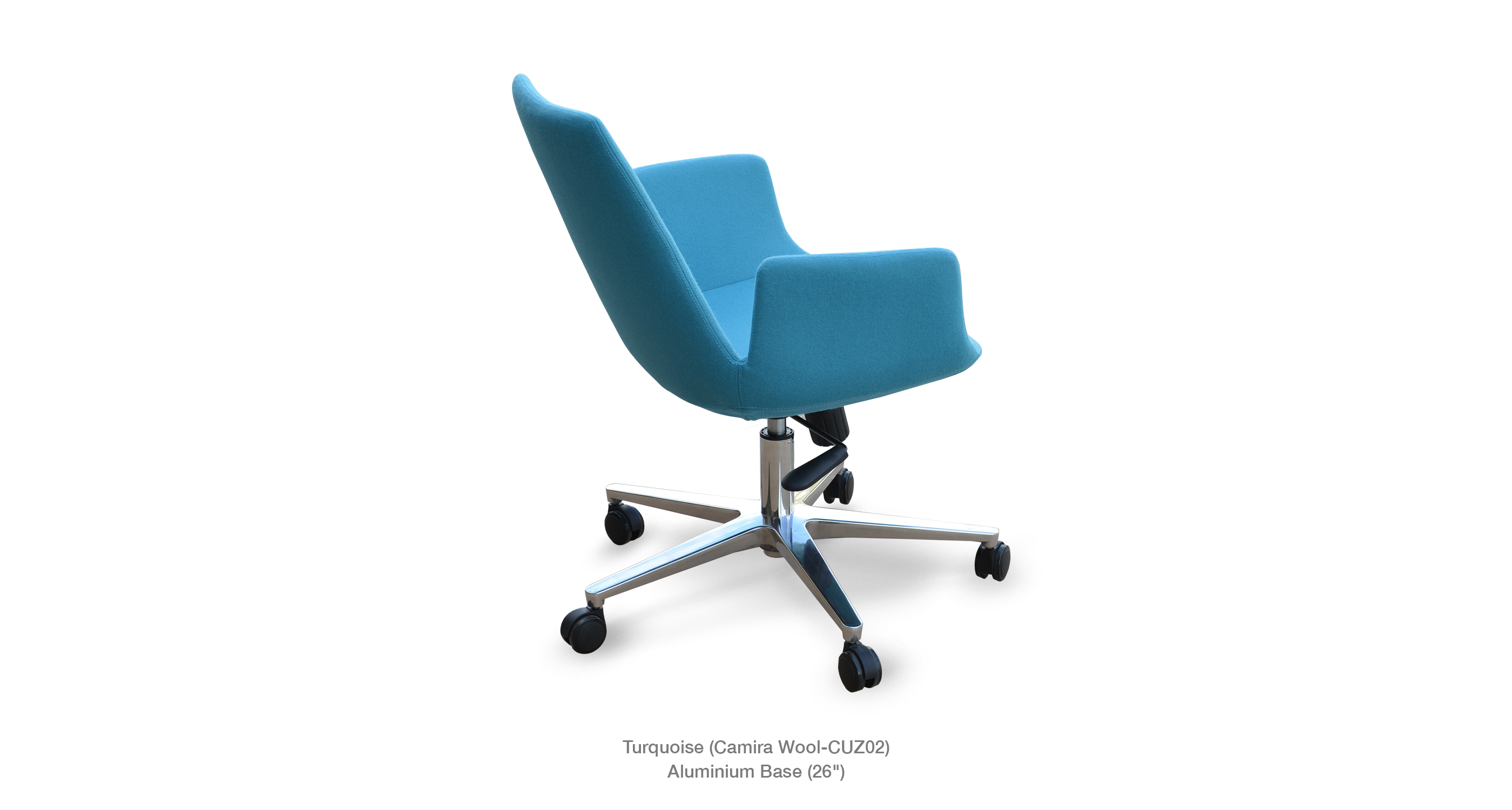 Eiffel Arm Office Turquoise