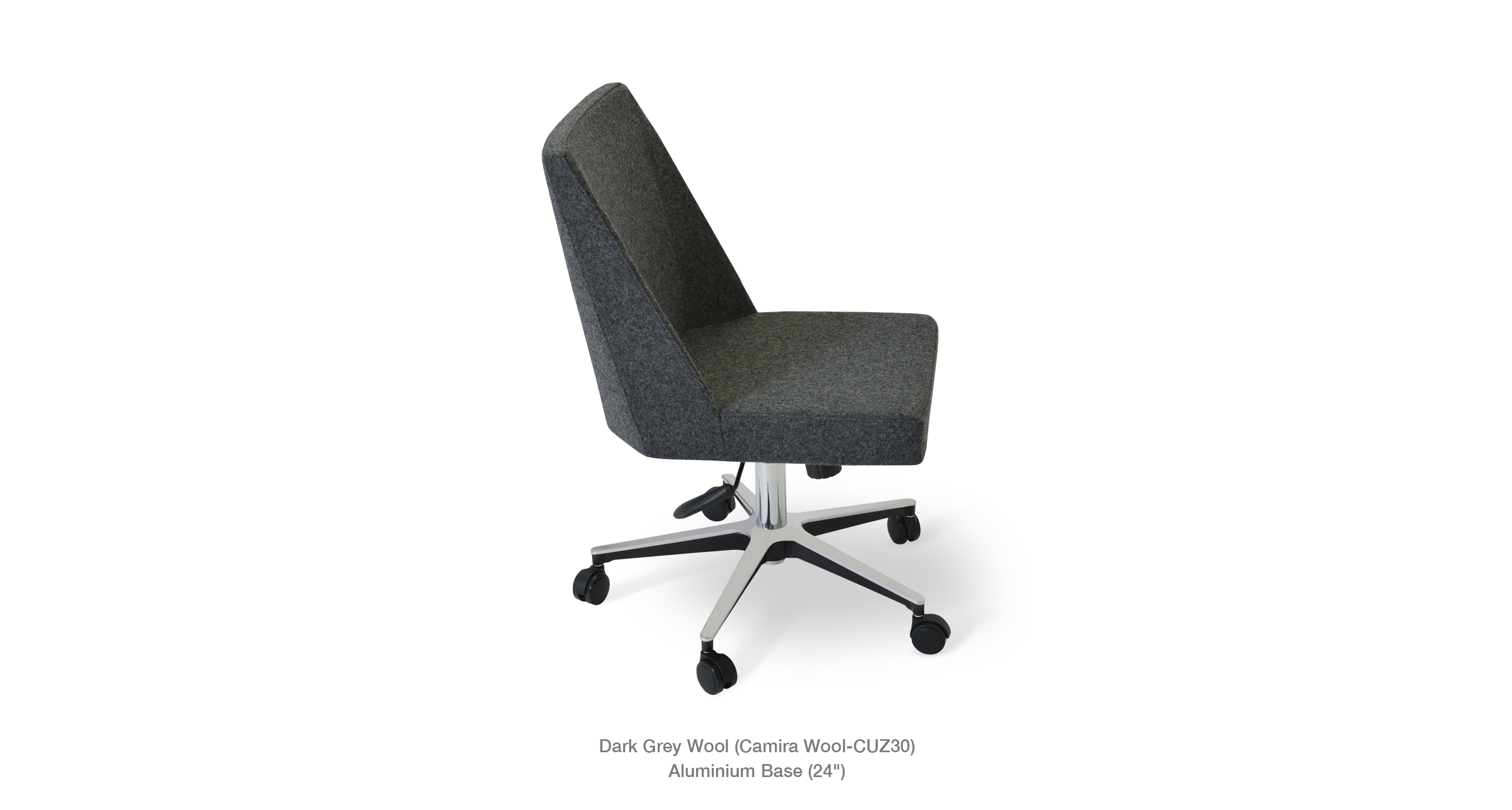 Prisma Office Dark Grey Wool