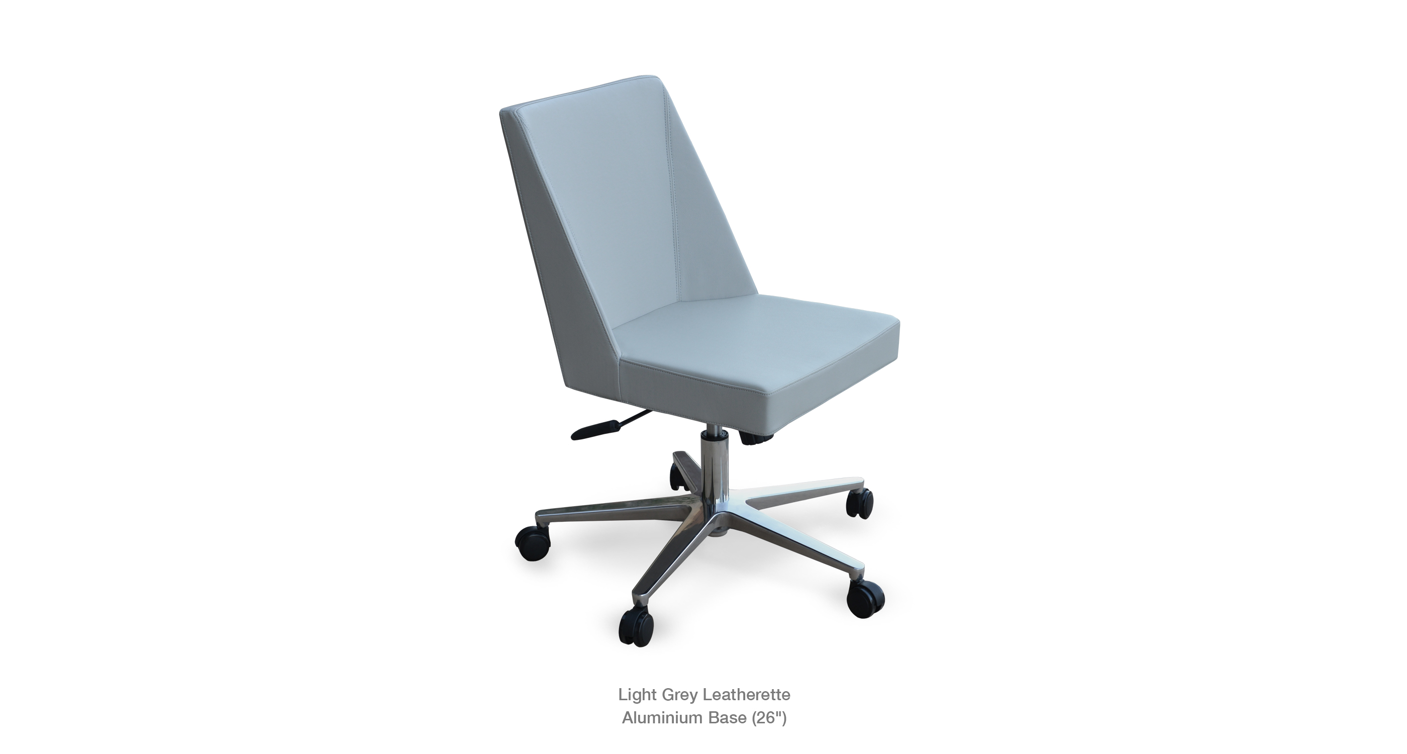 Prisma Office Light Grey Leatherette