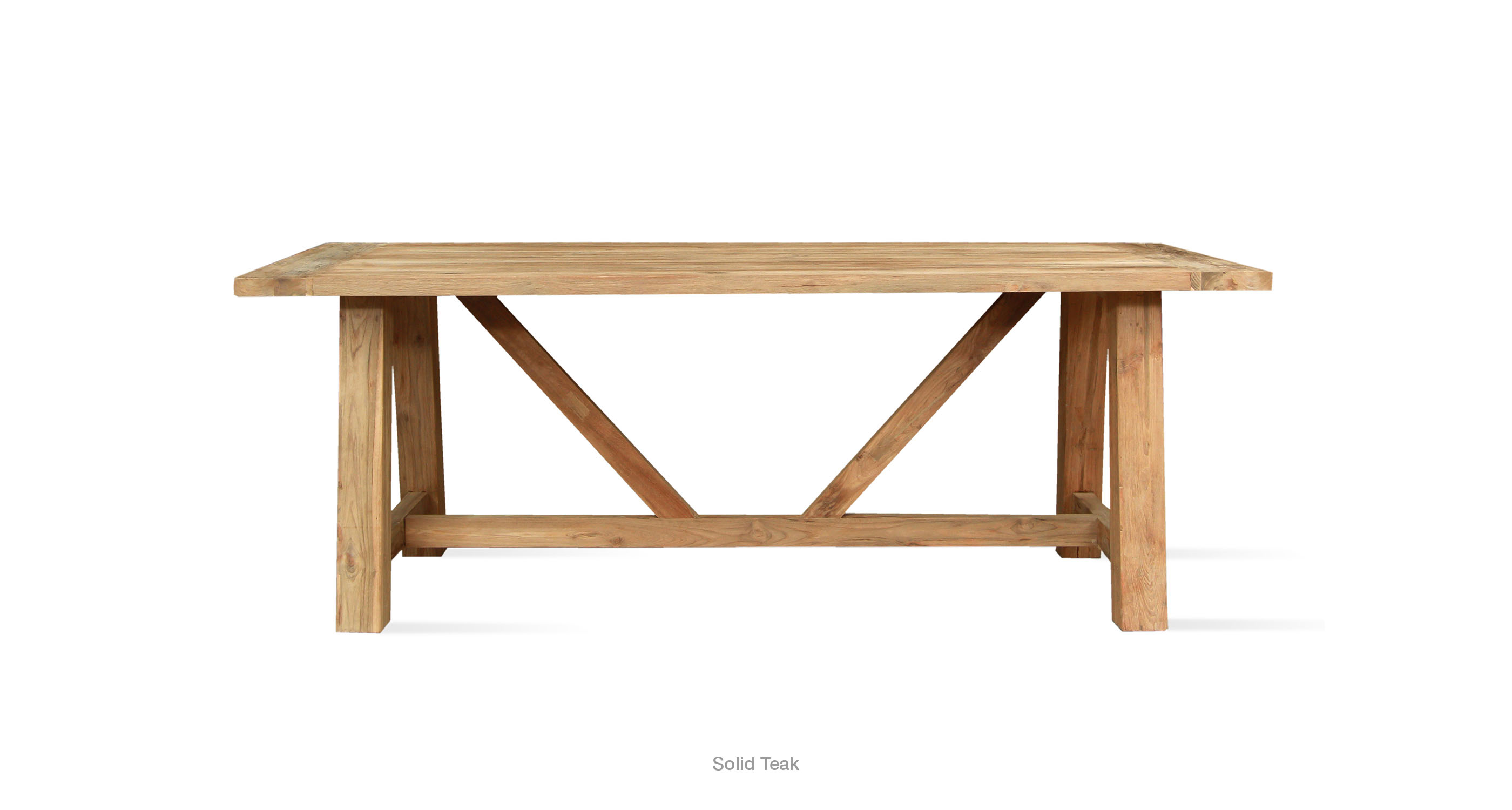 Vittoria Dining Table Teak