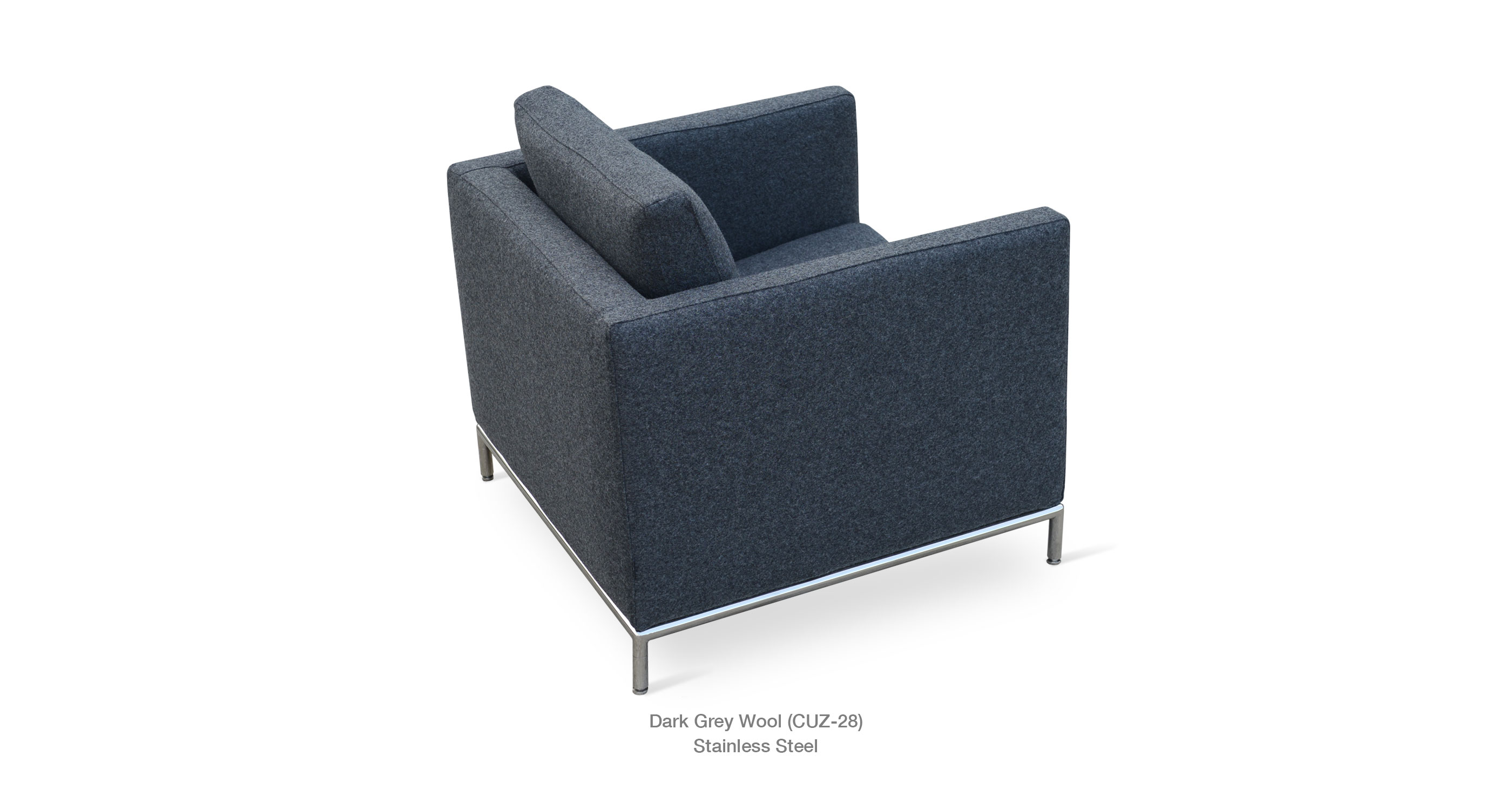 Istanbul Arm Chair Dark Grey