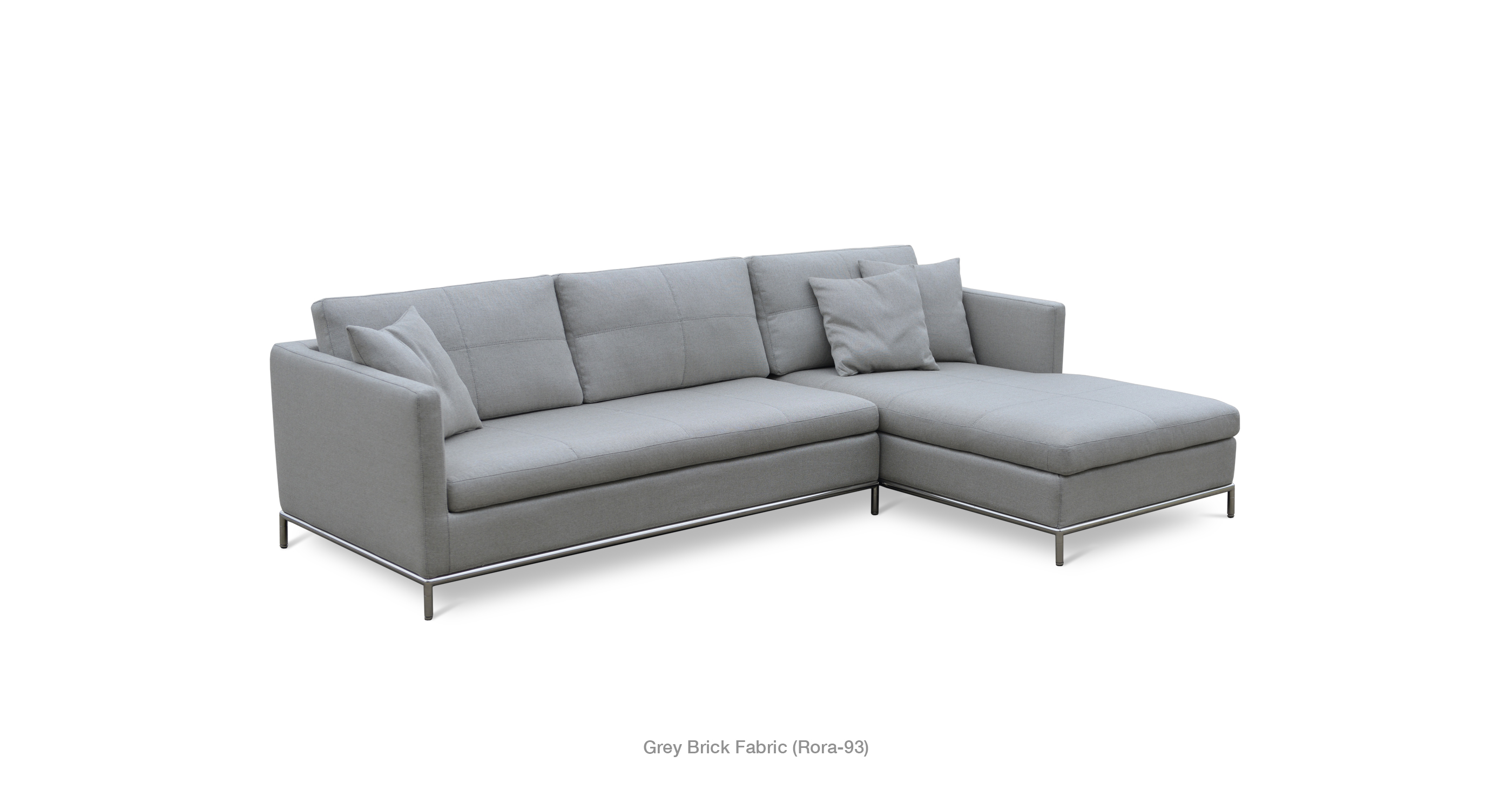 Istanbul Sec Grey Brick Fabric  sc 1 st  SOHO Concept : sectionals the brick - Sectionals, Sofas & Couches