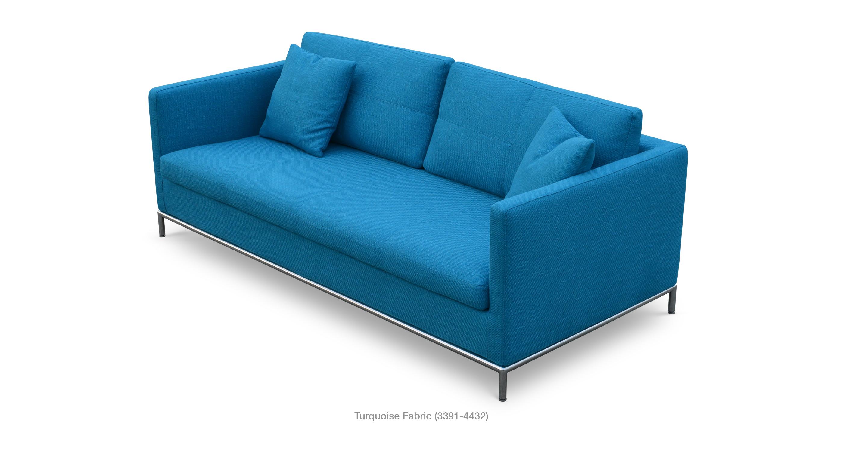 Istanbul Sofa Turquoise Fabric