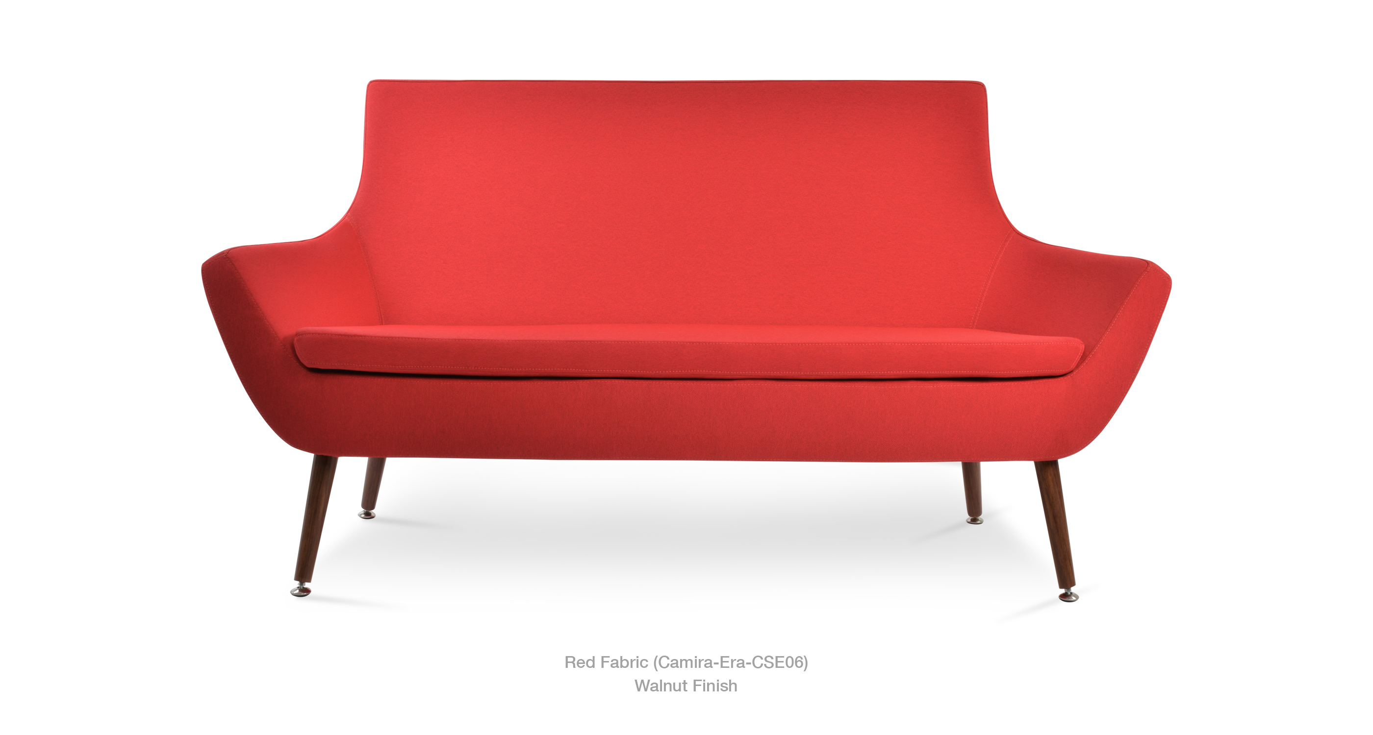 2019 12 30 Rebecca Sofa Red Era Walnut